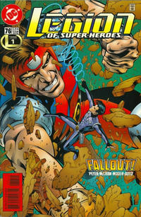 Cover Thumbnail for Legion of Super-Heroes (DC, 1989 series) #76