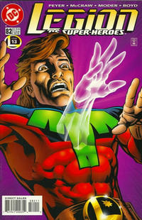 Cover Thumbnail for Legion of Super-Heroes (DC, 1989 series) #82