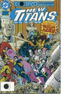 Cover Thumbnail for The New Titans Annual (DC, 1989 series) #8