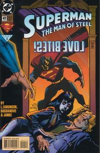 Cover Thumbnail for Superman: The Man of Steel (DC, 1991 series) #41