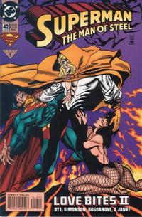 Cover Thumbnail for Superman: The Man of Steel (DC, 1991 series) #42