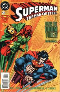 Cover Thumbnail for Superman: The Man of Steel (DC, 1991 series) #43