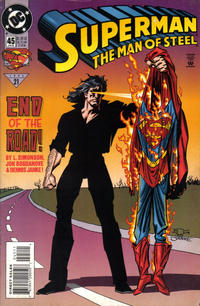 Cover Thumbnail for Superman: The Man of Steel (DC, 1991 series) #45