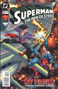 Cover Thumbnail for Superman: The Man of Steel (DC, 1991 series) #51