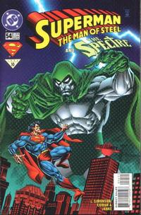 Cover Thumbnail for Superman: The Man of Steel (DC, 1991 series) #54
