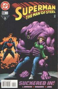 Cover Thumbnail for Superman: The Man of Steel (DC, 1991 series) #59