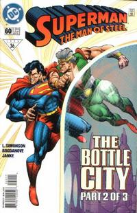 Cover Thumbnail for Superman: The Man of Steel (DC, 1991 series) #60 [Direct Sales]