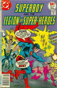 Cover Thumbnail for Superboy & the Legion of Super-Heroes (DC, 1977 series) #232