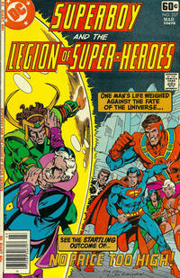 Cover Thumbnail for Superboy & the Legion of Super-Heroes (DC, 1977 series) #237