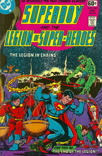 Cover Thumbnail for Superboy & the Legion of Super-Heroes (DC, 1977 series) #238