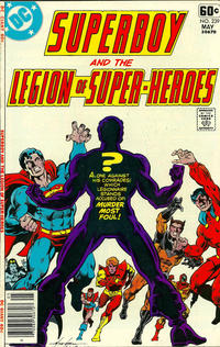 Cover Thumbnail for Superboy & the Legion of Super-Heroes (DC, 1977 series) #239