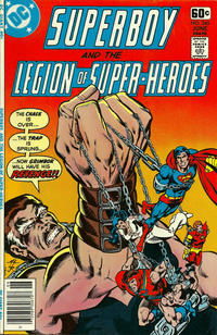 Cover Thumbnail for Superboy & the Legion of Super-Heroes (DC, 1977 series) #240
