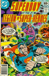 Cover Thumbnail for Superboy & the Legion of Super-Heroes (DC, 1977 series) #242