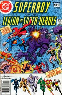 Cover Thumbnail for Superboy & the Legion of Super-Heroes (DC, 1977 series) #243