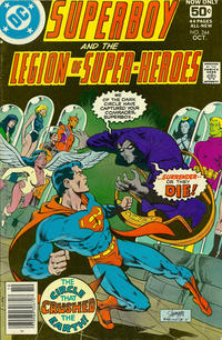 Cover Thumbnail for Superboy & the Legion of Super-Heroes (DC, 1977 series) #244