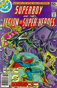 Cover Thumbnail for Superboy & the Legion of Super-Heroes (DC, 1977 series) #245