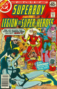 Cover Thumbnail for Superboy & the Legion of Super-Heroes (DC, 1977 series) #246