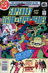 Cover Thumbnail for Superboy & the Legion of Super-Heroes (DC, 1977 series) #247