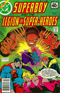 Cover Thumbnail for Superboy & the Legion of Super-Heroes (DC, 1977 series) #249