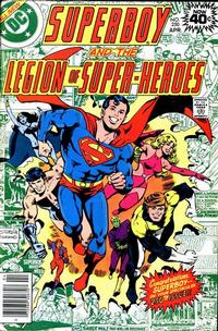 Cover Thumbnail for Superboy & the Legion of Super-Heroes (DC, 1977 series) #250