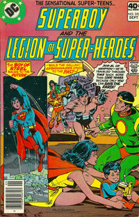 Cover Thumbnail for Superboy & the Legion of Super-Heroes (DC, 1977 series) #255
