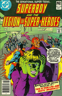Cover Thumbnail for Superboy & the Legion of Super-Heroes (DC, 1977 series) #256