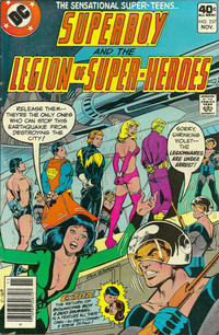 Cover Thumbnail for Superboy & the Legion of Super-Heroes (DC, 1977 series) #257