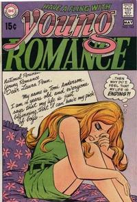 Cover for Young Romance (DC, 1963 series) #165