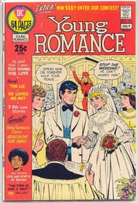 Cover for Young Romance (DC, 1963 series) #172