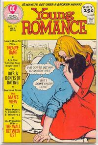 Cover for Young Romance (DC, 1963 series) #175