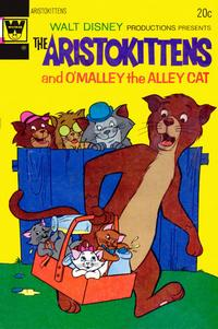 Cover Thumbnail for Walt Disney Productions Presents The Aristokittens (Western, 1972 series) #3 [Whitman Variant]