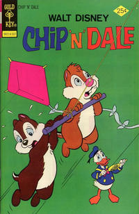 Cover Thumbnail for Walt Disney Chip 'n' Dale (Western, 1967 series) #34 [Gold Key]