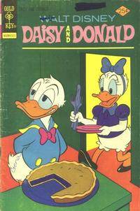 Cover Thumbnail for Walt Disney Daisy and Donald (Western, 1973 series) #13 [Gold Key]