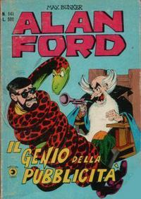 Cover Thumbnail for Alan Ford (Editoriale Corno, 1969 series) #141