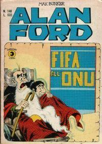Cover Thumbnail for Alan Ford (Editoriale Corno, 1969 series) #148