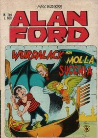 Cover Thumbnail for Alan Ford (Editoriale Corno, 1969 series) #149
