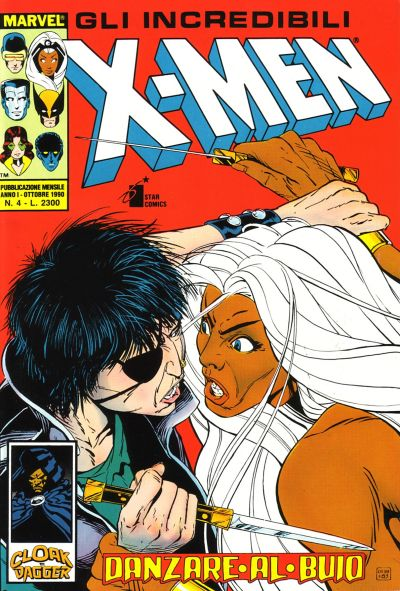 Cover for Gli Incredibili X-Men (Edizioni Star Comics, 1990 series) #4
