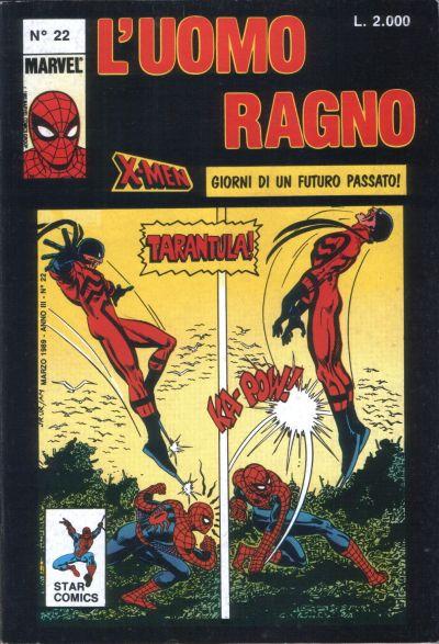 Cover for L'Uomo Ragno (Edizioni Star Comics, 1987 series) #22