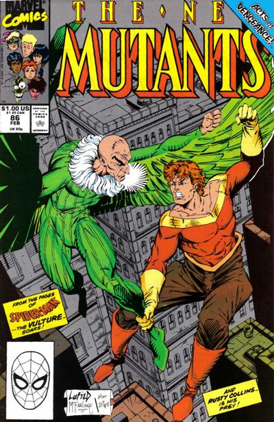 Cover for The New Mutants (Marvel, 1983 series) #86