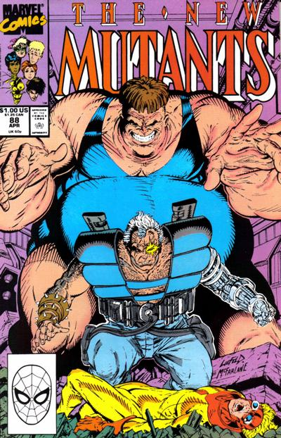 Cover for The New Mutants (Marvel, 1983 series) #88