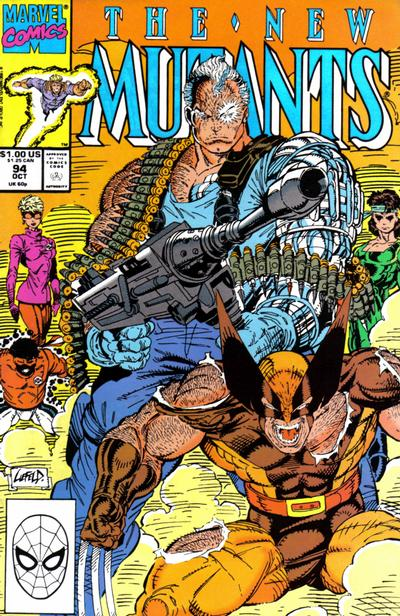 Cover for The New Mutants (Marvel, 1983 series) #94