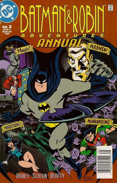 Cover for The Batman and Robin Adventures Annual (DC, 1996 series) #2