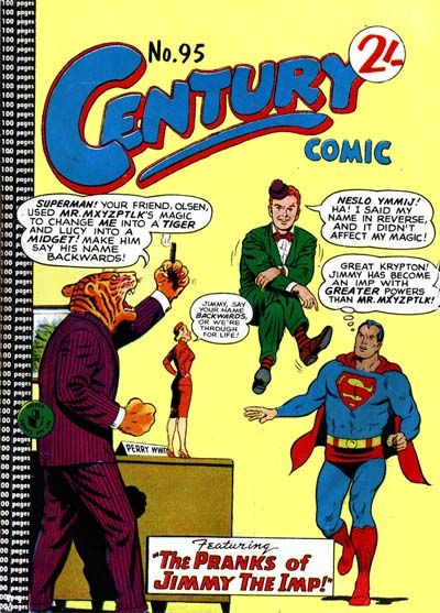 Cover for Century Comic (K. G. Murray, 1961 series) #95