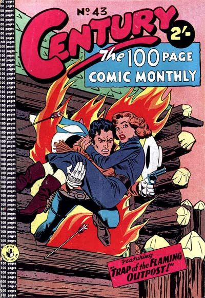 Cover for Century, The 100 Page Comic Monthly (K. G. Murray, 1956 series) #43