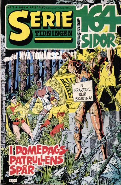 Cover for Serietidningen (Semic, 1984 series) #1/1985