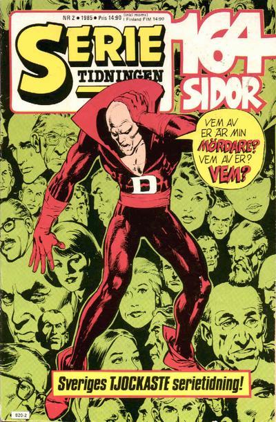 Cover for Serietidningen (Semic, 1984 series) #2/1985