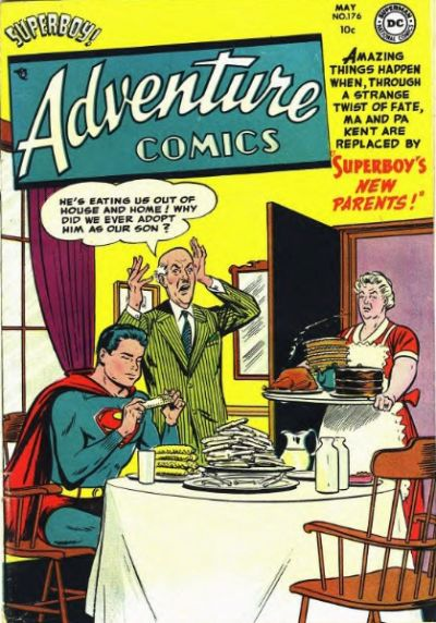 Cover for Adventure Comics (DC, 1938 series) #176