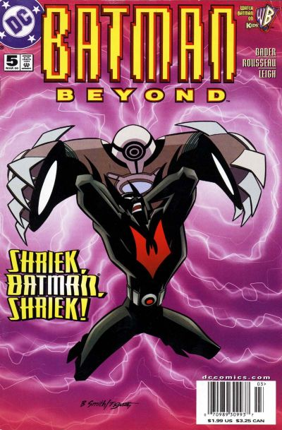 Cover for Batman Beyond (DC, 1999 series) #5