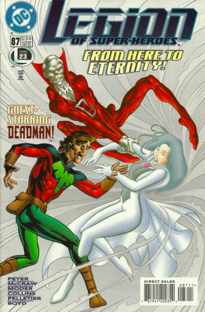 Cover for Legion of Super-Heroes (DC, 1989 series) #87