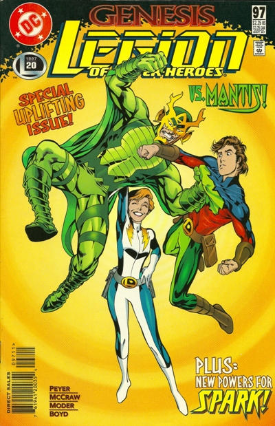 Cover for Legion of Super-Heroes (DC, 1989 series) #97